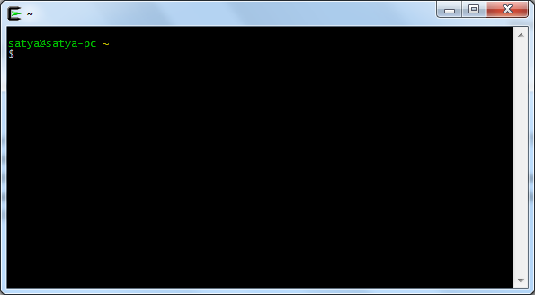 cygwin64 windows